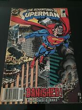 Dc Comic The Adventures Of Superman Banished