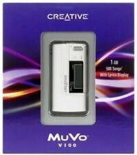 CREATIVE MuVo V100 1GB MP3 Player In White -G11