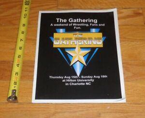2019 NWA Fanfest The Gathering Wrestling Program 24 Autographs Steamboat Colon