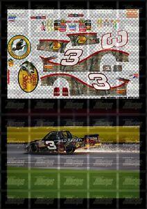 NASCAR 1/24 DECALS AD01 - AUSTIN DILLON 2010 CWTS #3 BASS PRO - NWTF SILVERADO