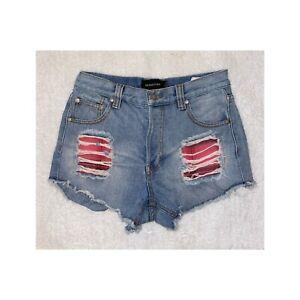 MINKPINK x Christina Perri Patch Shorts - Small