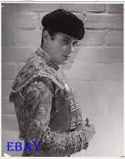 Tony Curtis sexy bullfighter VINTAGE Pho G.E. Theatre Bullfighter And The Lady