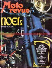 MOTO REVUE 2102 Cleveland Nimbus Henderson Joseph Duhem Raid ORION ; Essais 1972