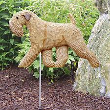 Soft Coated Wheaten Terrier Dog Garden Stake