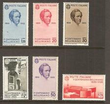 ITALY # 349-54 MLH OPERA COMPOSER MUSIC PIANO