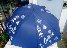 Regenschirm Ostsee mit maritimen Motiven Durchmesser 100cm