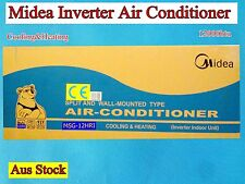 Midea Inverter Reverse Cycle Split Unit System Air Conditioner MSG-12HRI