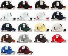 Chapeaux casquettes de base-ball pour femme, en 100% coton