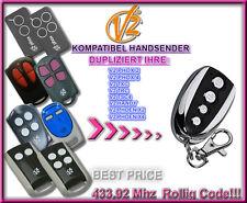 V2 Phoenix, V2 Handy, TSC, TRC 433.92MHz kompatibel handsender, Klone, Ersatz