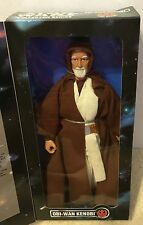 "1996 KENNER STAR WARS REBEL ALLIANCE 12"" ACTION FIGURE OBI-WAN KENOBI COLLECTOR"