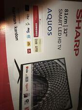"Sharp 32"" HD Ready LED Smart TV - Black (1T-C32BC3KH2FB)"