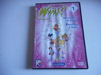 DVD - WINX  - Les pouvoirs de Bloom  -  Bienvenue à Magix