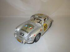 """Umbau auf Basis Bburago  L.M.M. Porsche 356B """"1961"""" #153 (silber) 1:18 ohne Vp.!"""