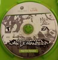 RARE PROMO DISC ONLY- Need For Speed Most Wanted Xbox 360, 2005 (NO cover) fr/sh