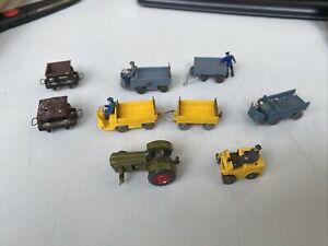 Konvolut Fahrzeuge Traktor Lore Gepäcktransporter Wiking für Spur N Sammler