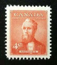Canada #319 MNH, Prime Ministers - Alexander Mackenzie Stamp 1952