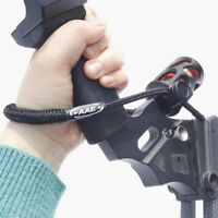 Archery Adjustable Wrist Sling Strap Braided Nylon Cord Rope Compound Bow Shoot