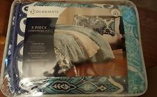 "5 PIECE COMFORTER SET FULL/QUEEN ""CATALINA"""