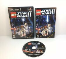 Lego Star Wars II: The Original Trilogy For PlayStation 2 PS2 7E