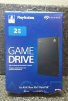 Seagate 2TB Game Drive for PlayStation 4 3.0 USB Open Box FREE SHIPPING