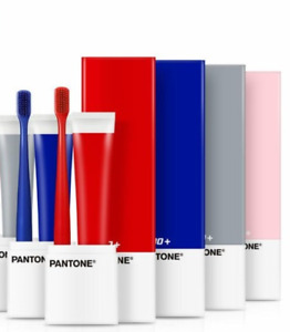 PANTONE x 2080 Toothbrush Toothpaste Cover Holder Case Set Home School Travel
