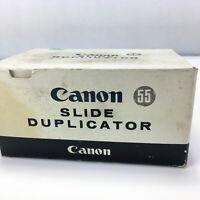 Canon FL Mount Slide Duplicator