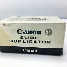 Canon Fl Mount Slide Duplicator