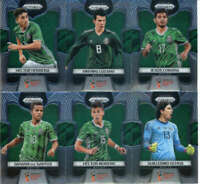 2018 Panini Prizm World Cup Soccer Mexico Team Set of 11 Cards