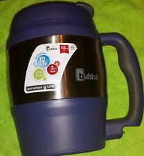 NEW!  Bubba Brands Mug Cup Classic blue 52 Oz Dual Wall BPA Free