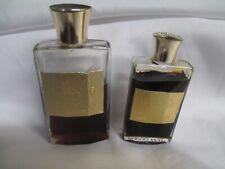 Vintage Estee Lauder Youth Dew Bath Oil Cologne, Mini Bottles Pair