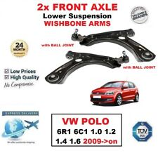 2x eje delantero horquilla inferior brazos para VW POLO 6r1 6c1 1.0 1.2 1.4 1.6