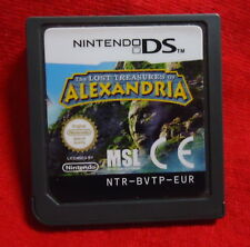 ds game the lost treasures of alexandria | eBay