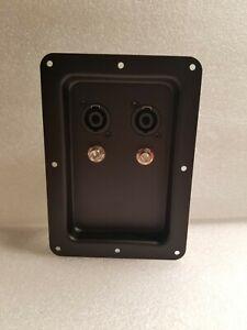 """Seismic Audio-Pair of Jack 1/4"""" PA/DJ Speaker Cabinet 2 Pack"""