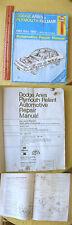 DODGE ARIES & PLYMOUTH RELIANT 1981-1989,1990,Larry Warren,Illust