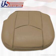 2003 2004 2005 2006 Chevy Silverado 2500 HD Driver Bottom Vinyl Seat Cover Tan