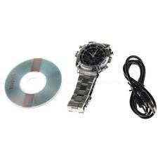 HD 1080P 8GB Waterproof DVR Spy Wrist Watch Hidden Camera Night Vision Cam HYSG