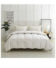 GOOSE FEATHER AND DOWN DUVET/ QUILT '15% DOWN' 100% Cotton Free Carry Case FBFJ