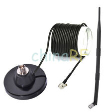 9dB Omni 700-2600 MHz 4G magnetic LTE antenna strong magnetic base TS-9 Huawer