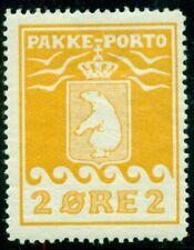 GREENLAND #Q2 2ore Pakke Porto, og, LH, VF, Scott $275.00