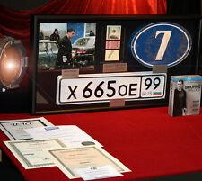 Huge BOURNE SUPREMACY Prop Display, MATT DAMON Signed Autograph, COA, DVD, UACC