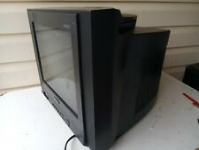 "Samsung Dyna Flat 14"" Screen CRT Color TV - Old School Gaming TXM1491F No Remote"