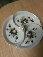 Vintage Norcrest Fine China Hand Painted   Serving Dish