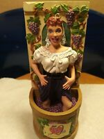 Vintage I Love Lucy Carlton Cards Havin A Stompin Good Time. Christmas Ornament