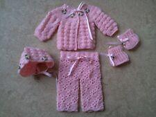 Puppen Set Rosa ca. 35 cm Puppen