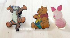 3 pin's PIN S WINNIE POOH OURSON anime figurine dessin pins DISNEY TIGROU TIGGER