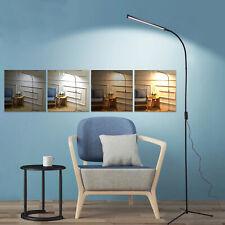 Modern LED Floor Standing Lamp Reading Table Light Desk Lamp Dimmable Adjustable