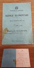 FB376_PAGELLA SCOLASTICA_SCUOLE ELEMENTARI_SANTHIA'_ANNO 1913-14