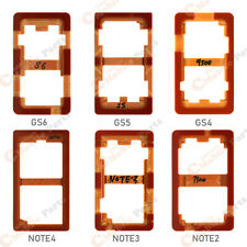 6 in 1 - Galaxy S4/S5/S6 Note2/Note3/Note4/ LOCA LCD Plastic Mold Set (6 Set)