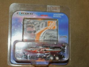 2004 tony stewart 20 home depot nitro boat 1:64 scale diecast Action