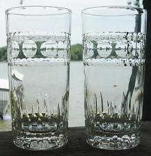 "IMPERIAL GLASS ""Hampton"" 2-12 oz Tumblers (10 avail)..MINT..Shipped FREE!!!"